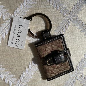Coach key chain New with tag